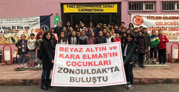 Beyaz altın ve kara elmasın çocukları Zonguldak'ta buluştu