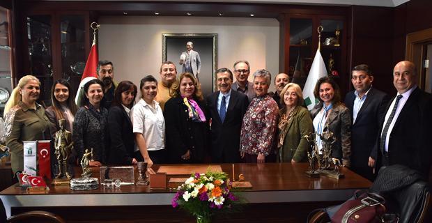 CHP Tepebaşı Teşkilatından Ataç'a ziyaret