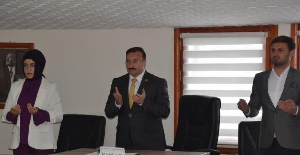 Emet Belediye Meclisi'nde ilk toplantı