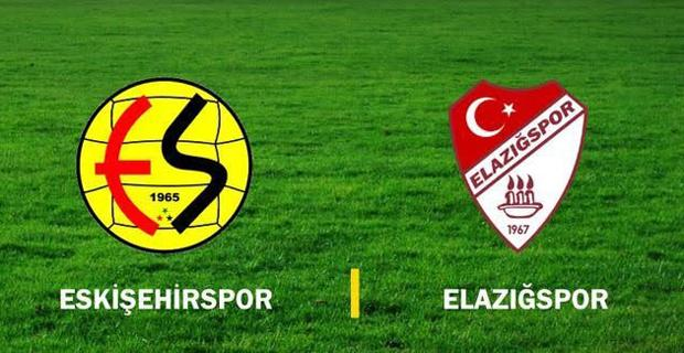 Eskişehirspor- Elazığspor 1.Lig 29.Hafta Maçı