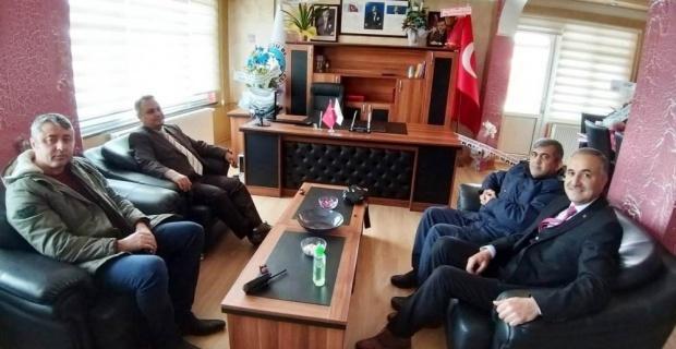 Kaymakam Halim'den 'borçsuz belediye' ziyareti