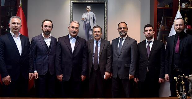 MÜSİAD, Ataç'ı ziyaret etti