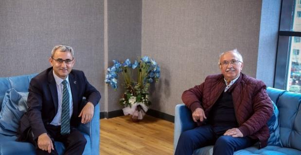 Mustafa İça'dan Başkan Alim Işık'a tebrik ziyareti