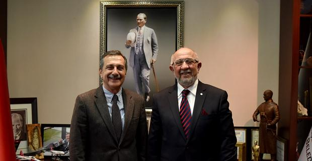 Sarıoğlu'ndan Ataç'a ziyaret