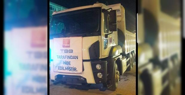 TBB'den Emet Belediyesi'ne hibe kamyon