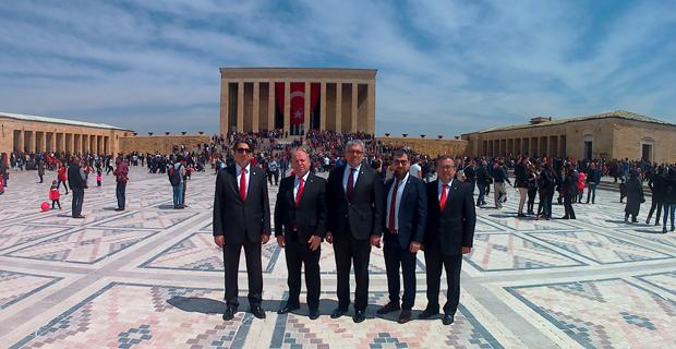TBMM'nin 99. yıl dönümünde EOSB'den Ankara ziyareti
