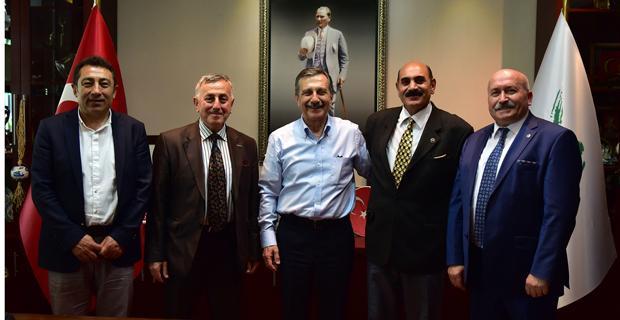 Başkan Ataç'a STK Ziyaretleri Sürüyor