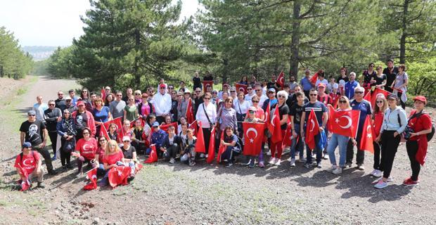 Kent Ormanı'nda 100. yıl yürüyüşü