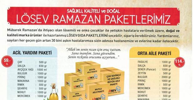 LÖSEV Ramazan Paketi