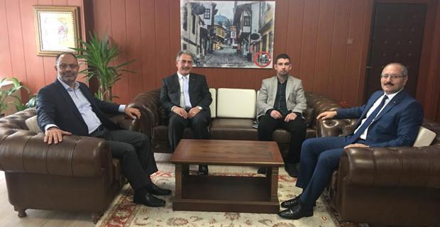 MÜSİAD' dan Odunpazarı Kaymakamı Turgay Hakan Bilgin' e ziyaret