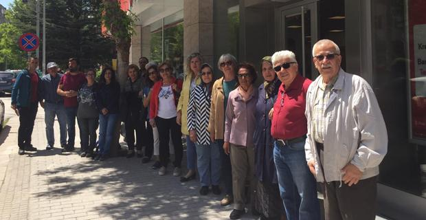 Orhangazi Mahallesi'nden İmamoğlu'na destek