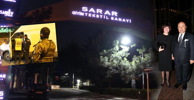 Sarar'ın sahibi ile eşi rehin alınarak soyuldu