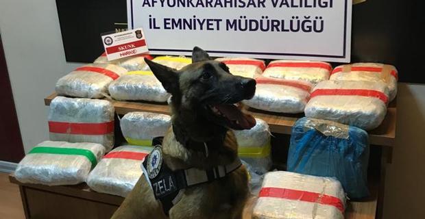 19 kilo 331 gram uyuşturucu ele geçirildi