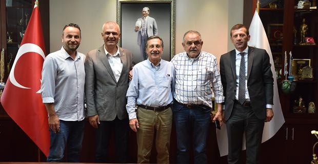 CHP Sakarya İl Başkanı'ndan Ataç'a ziyaret