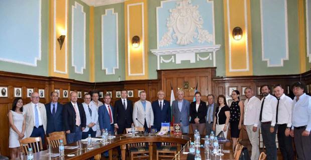 ERİAD Bulgaristan'da iş dünyası ile bir araya geldi