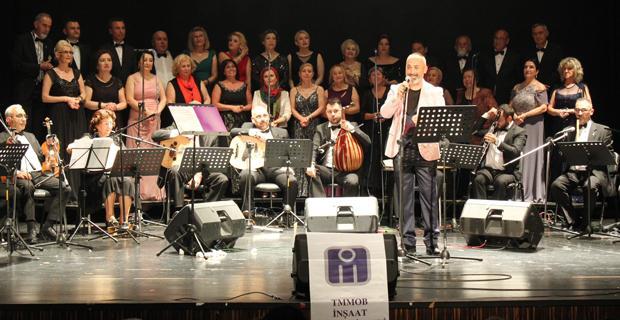 İMO TSM Korosu'ndan muhteşem konser