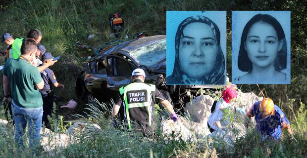 Korkunç kaza: 2 ölü, 3 yaralı