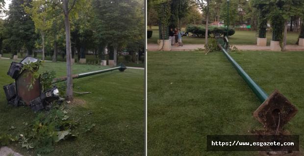 Anıt Park'ta tehlike çanları