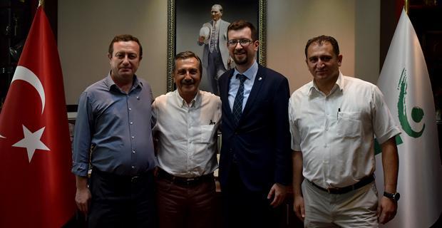 EMO'dan Başkan Ataç'a Ziyaret