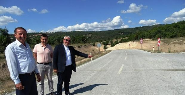 İşte CHP'li Kasap'ın 'asfaltsız' dediği yol