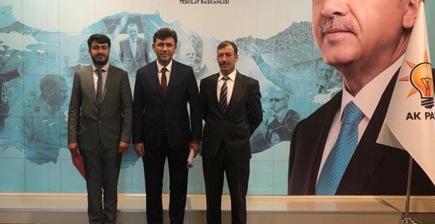 AK Parti'den iki ilçeye yeni başkan