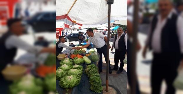 Başkan Gökhan Gürel: Üreten çiftçimiz halinden memnun