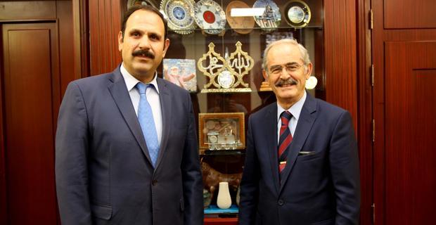 Başsavcı İrcal'dan Büyükerşen'e ziyaret