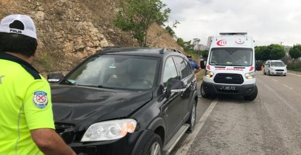 Bilecik'te yaşanan trafik kazasında 2 kişi yaralandı