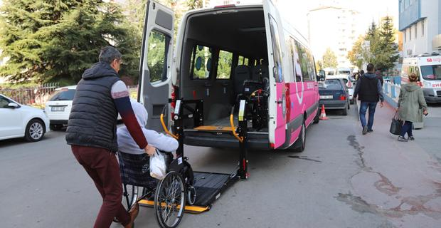 Engellilere ulaşım kolaylığı