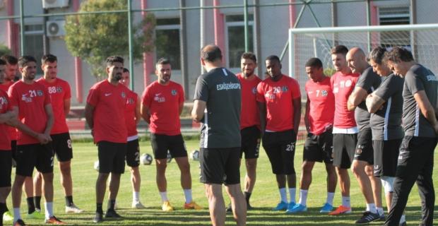 Eskişehirspor'da bayram tatili bitti