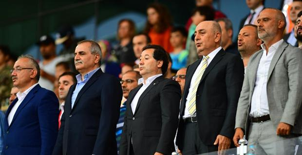 Eskişehirspor maçında tam kadro sahada olacağız