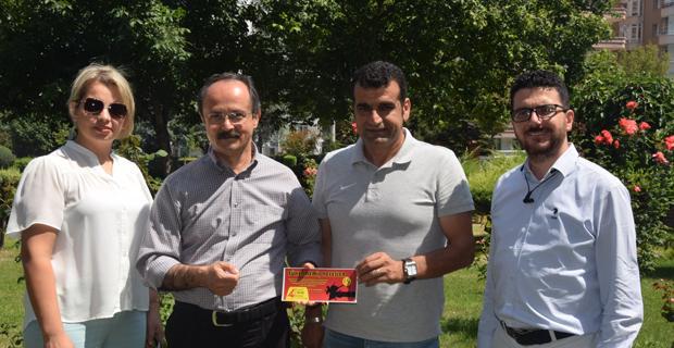 Özel Ümit'ten Eskişehirspor'a destek