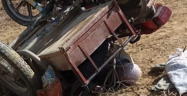 Simav'da motosiklet kazası: 1 ölü