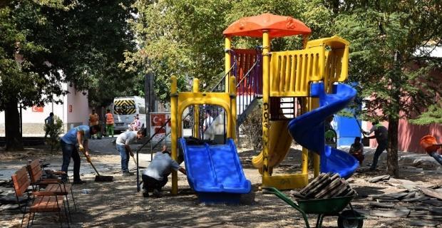 parklar yeni bir görünüme kavuşuyor