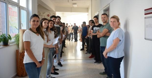 Engelliler Entegre Yüksekokulu'nda yetenek sınavları tamamlandı