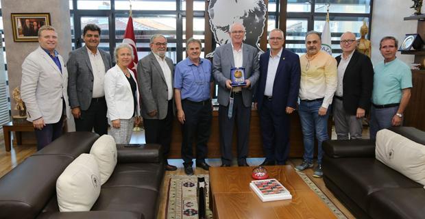ERİAD'dan Başkan Kurt'a teşekkür