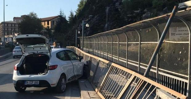 Köprü korkulukları olası bir faciayı önledi
