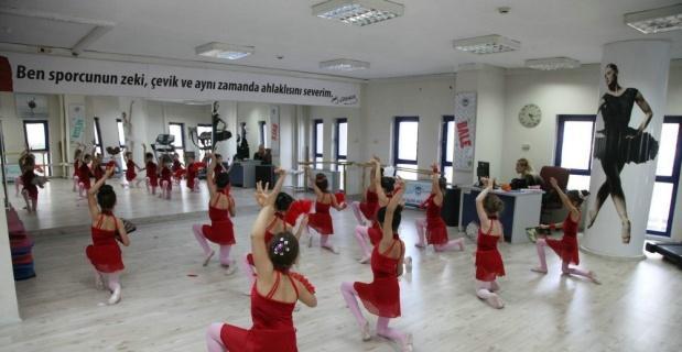 Küçük çocuklar için bale dansları eğitimleri başlıyor