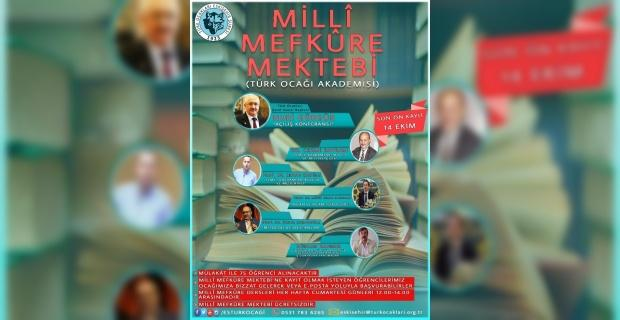 Türk Ocağı akademisi ön kayıtları devam ediyor