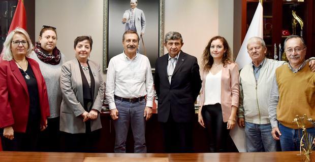 Çevrecilerden Başkan Ataç'a ziyaret