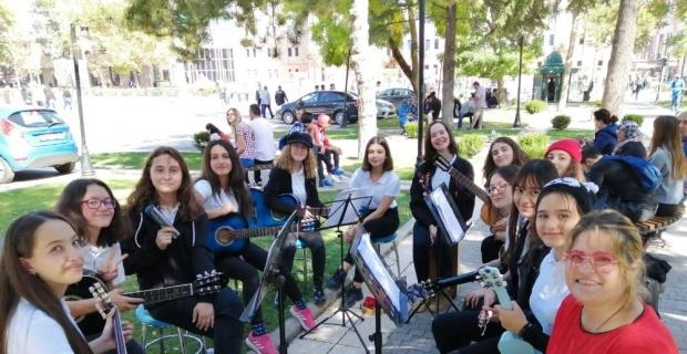 Süleyman Çakır Lisesi'nde, 'Erasmusdays' etkinliği