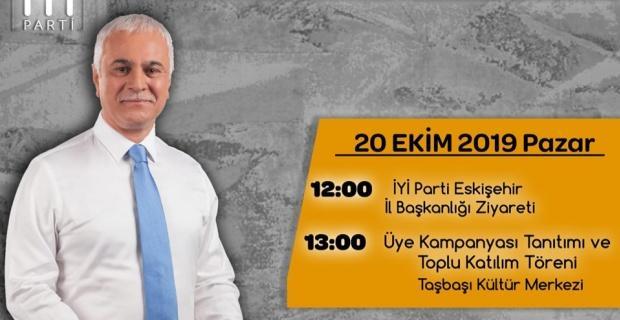 Koray Aydın Eskişehir'e geliyor