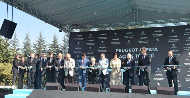Peugeot Alpata açıldı