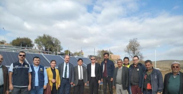 Şuhut'ta ORKÖY kapsamında başlatılan ''Orman Köyleri Elektrik Üretim Projesi'' hayata geçiyor