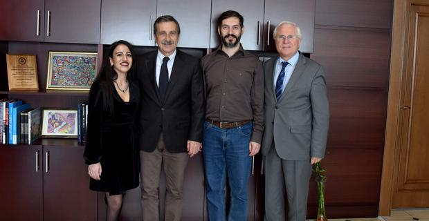 Azmiyle örnek olan Derya'dan Başkan Ataç'a ziyaret