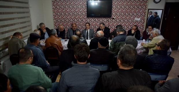 Başkan Ataç Döğerliler ile buluştu