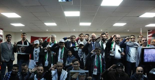 Filistin'deki siyası görüşleri Türkiye'de yansıtmayın