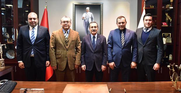 Eskişehirspor yönetimi Ataç'ı ziyaret etti