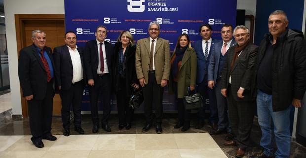 Çin'deki müthiş Türk'ten EOSB'ye ziyaret