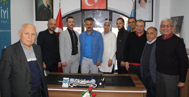 DSP'den İYİ Parti'ye ziyaret